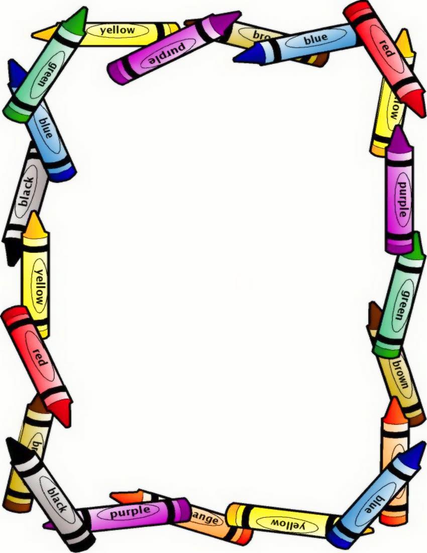 crayon border large - /education/supplies/crayons/crayon