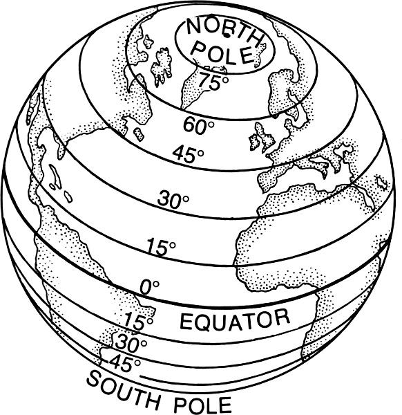 Drawing Lines Of Longitude And Latitude : Latitude education supplies globes