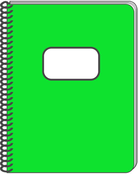 notebook cover clipart - photo #16