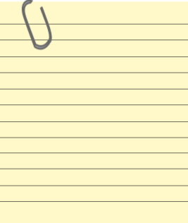 note with paper clip   education  supplies  paper  paper 2 notebook clipart transparent notebook clip art image