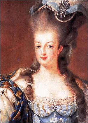 MARIE ANTOINETTE - public domain clip art image