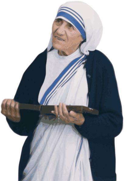 Mother Teresa vector - /famous/humanitarian/Mother_Teresa/Mother ...