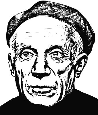 Pablo Picasso lineart - /famous/painter/Picasso/Pablo ...