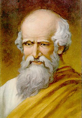 Archimedes Portrait Famous Science Greek Archimedes