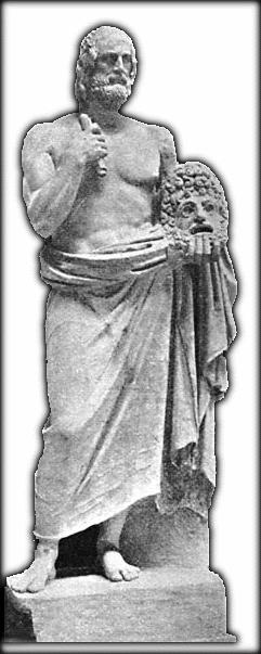 Euripides Statue