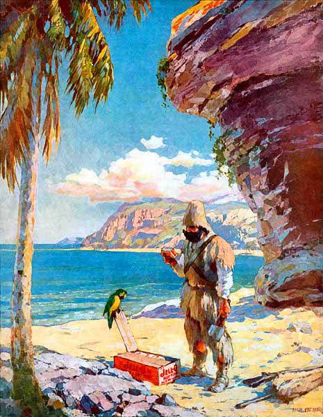 Robinson Crusoe jello