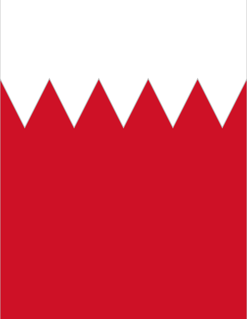 Flag Of Bahrain Clipart