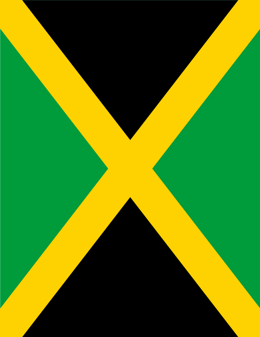Jamaica Flag Full Page