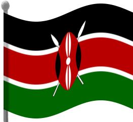 kenya flag waving flagscountrieskkenyakenyaflag