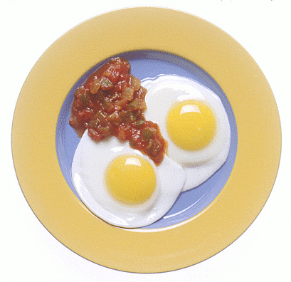 how to make sunny side eggs