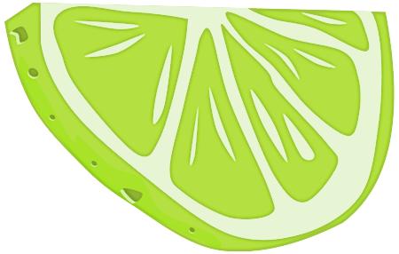 Lime Png Lime half slice