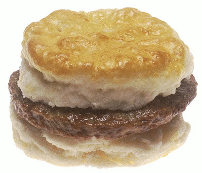 sausage biscuit - http://www.wpclipart.com/food/meat/sausage/sausage ...