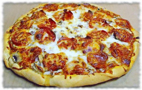 pizza clip art. domain clip art image