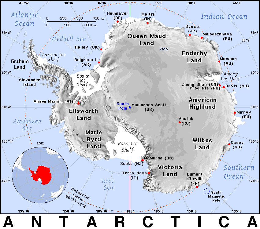 Antarctica/Geography