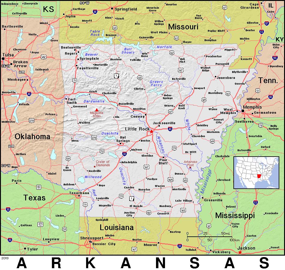 arkansas topo   geography  us states  state topo  arkansas state clipart images status clip art