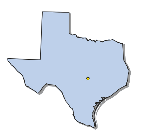 clipart map of texas - photo #6