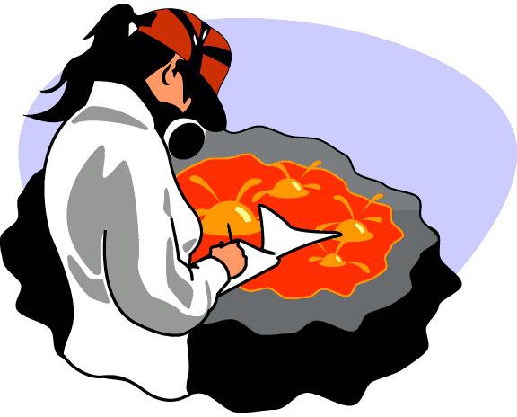 volcanologist clipart - photo #1