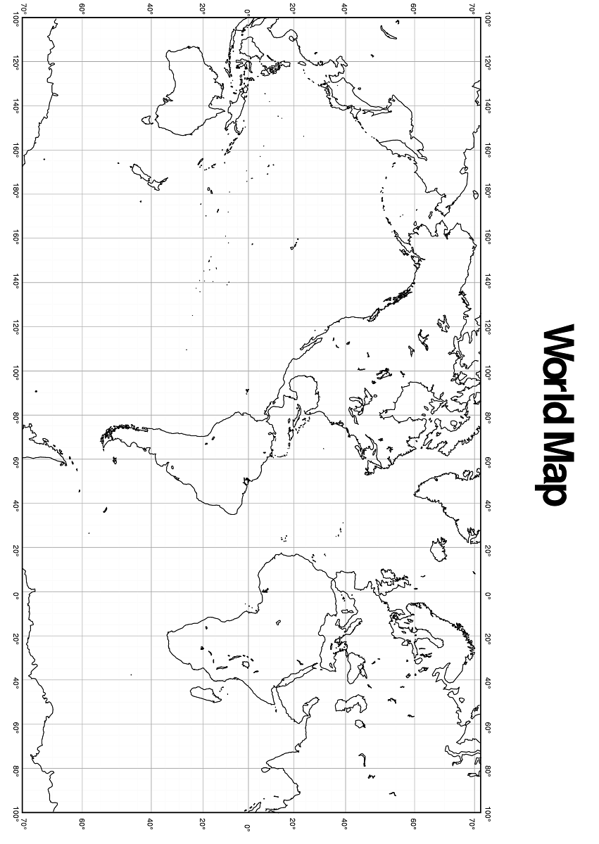 Maps World Map Longitude Latitude - World map latitude longitude