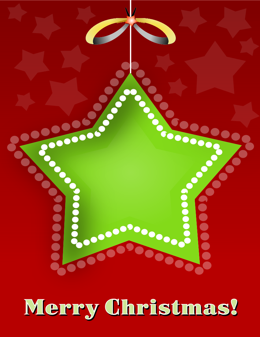 christmas card star red green   holiday  christmas clip art merry christmas free clipart merry christmas kids