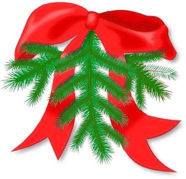 Branch n bow holiday christmas decorations branch n bow for X mas decorations png