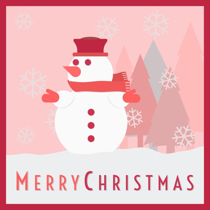 Snowman Christmas card - /holiday/Christmas/decorations ...