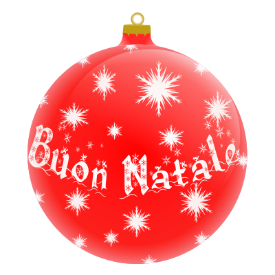 Buon Natale Italian Holiday Christmas Ornaments