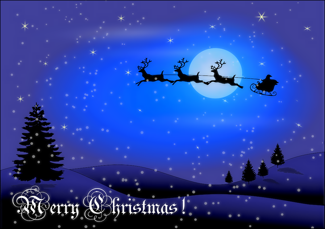christmas card w words holidayChristmasscenes – Words for Christmas Card