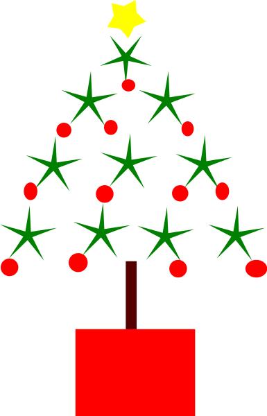 christmas tree drawing...