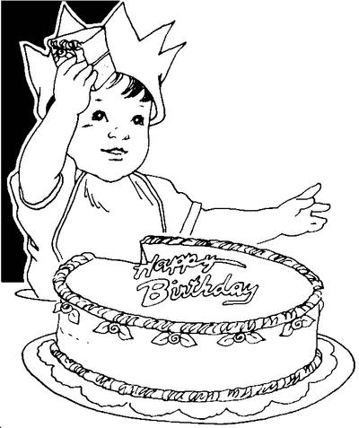 happy birthday pictures clip art. happy birthday cake toddler