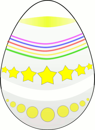 easter eggs clipart black and white. easter eggs clipart graphics.