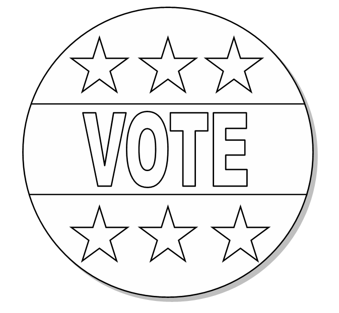 Free Printable Coloring Pages For The Presidental Election
