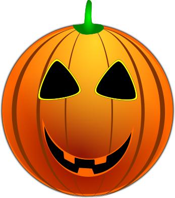 halloween smiley pumpkin
