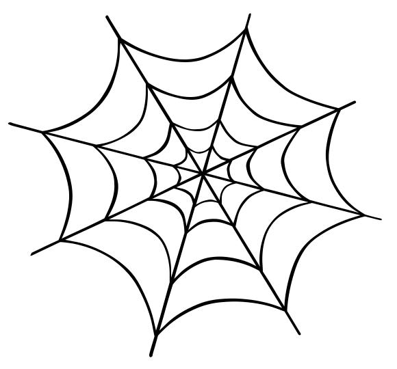 Spider webs clipart - photo#22
