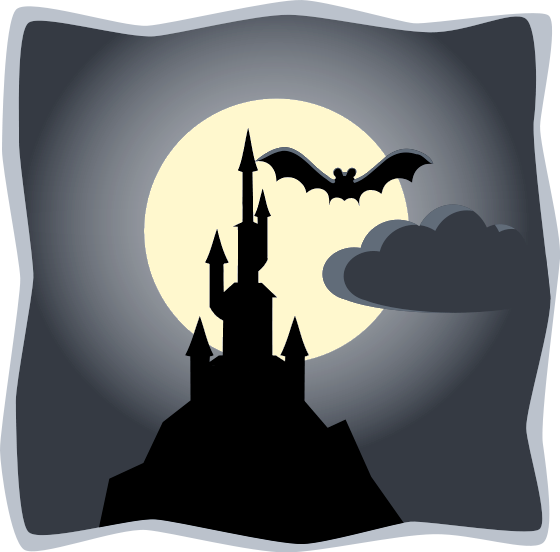 halloween scene clipart - photo #34