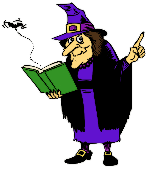 witch reading book - /holiday/halloween/witch/witches_5/witch_reading ...