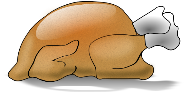 baked turkey with texture   holiday  thanksgiving  more clip art turkey dinner clip art turkey picture