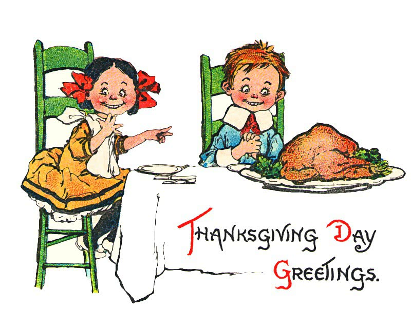clipart thanksgiving table - photo #18