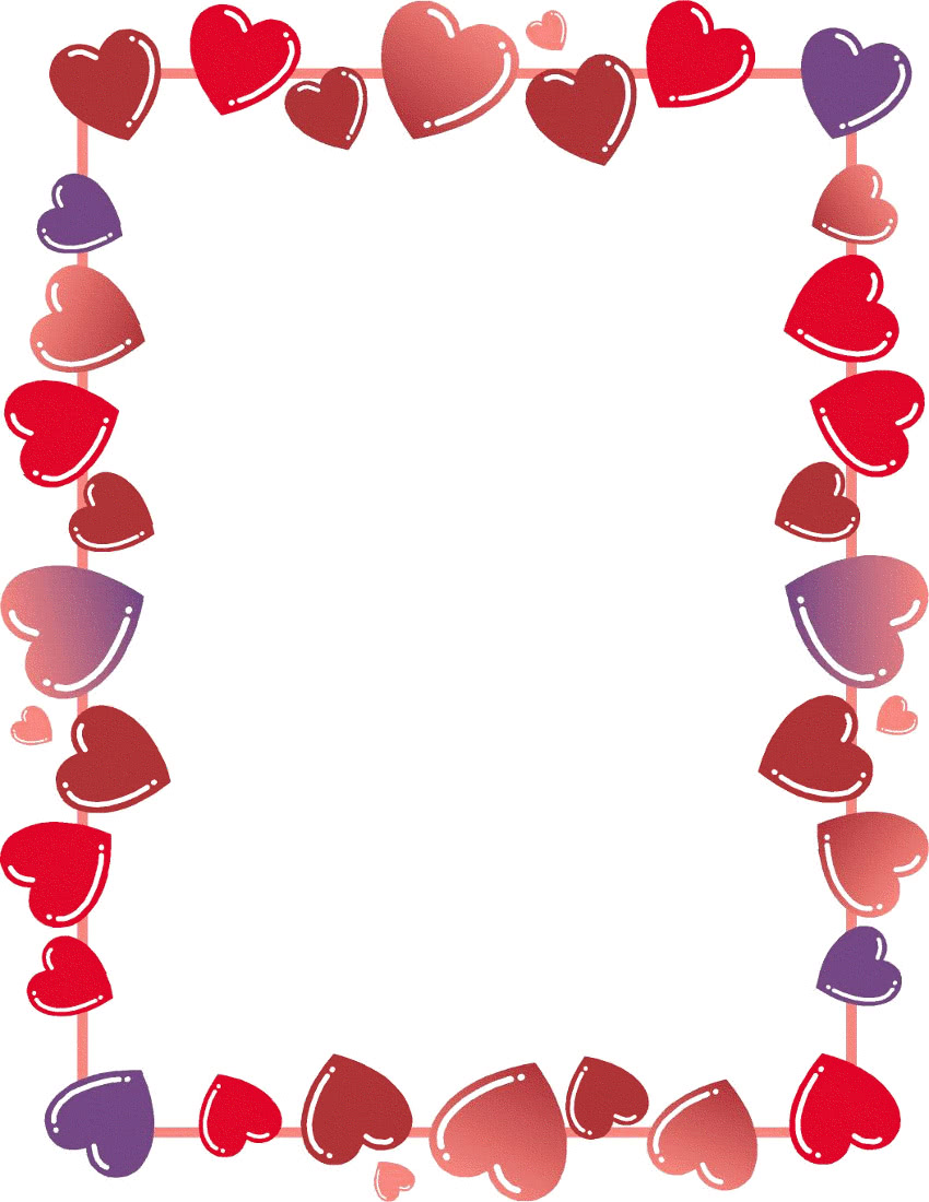 border - /holiday/valentines/Valentine_cards_borders/heart_border ...