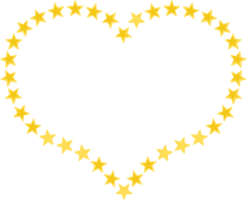 clip art heart borders. heart shaped order with