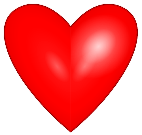 bright heart edged