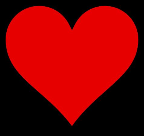 Clipart Heart Border. HEART THICK BORDER - public