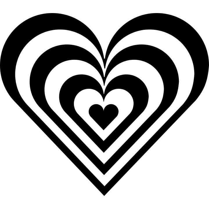 zebra heart - /holiday/valentines/valentine_hearts/zebra ...