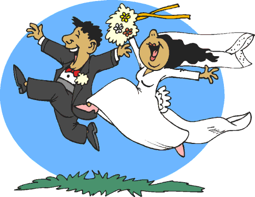 funny wedding clipart free - photo #1