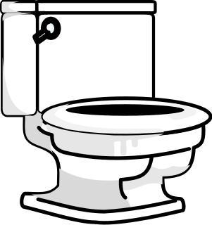 Toilet Bold Household Bathroom Toilet Toilet