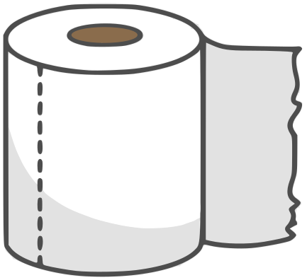 toilet paper ro... Empty Toilet Paper Roll Png