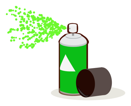Paint Can Spray Green Household Chores Painting Spray Paint Paint Can Spray