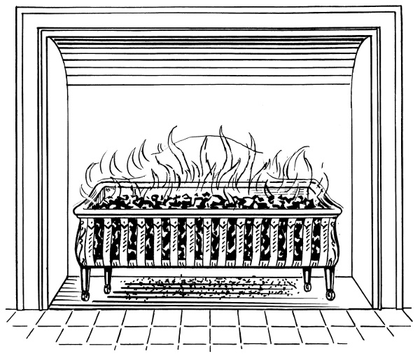 Image Result For What Size Fireplace Gratea