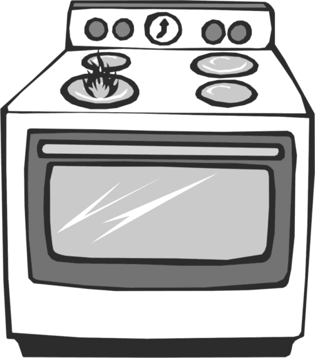 Remarkable Stove and Oven Clip Art 616 x 700 · 21 kB · png