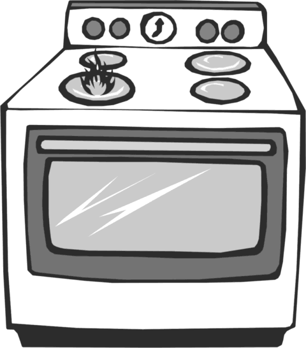 Excellent Stove and Oven Clip Art 616 x 700 · 32 kB · png