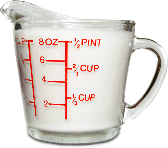 how to measure 1/8 cup